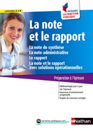 La note et le rapport