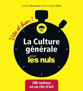 La culture générale pour les Nuls Vite et Bien La couverture du livre martien