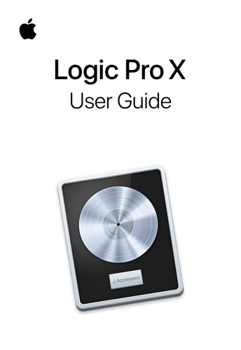 Logic Pro X User Guide