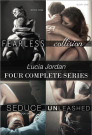 Lucia Jordan Four Complete Series: Fearless, Collision, Seduce & Unleashed PDF Download