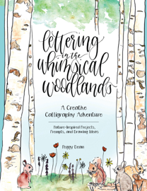 Lettering in the Whimsical Woodlands book