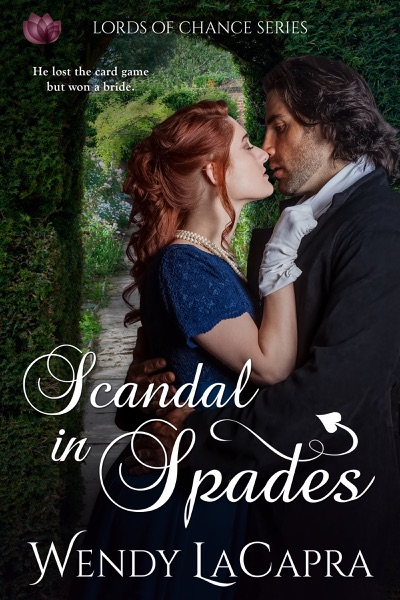 Scandal in Spades - Wendy LaCapra book cover