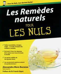 Les remèdes naturels pour les nuls La couverture du livre martien