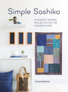 Simple Sashiko Book Cover