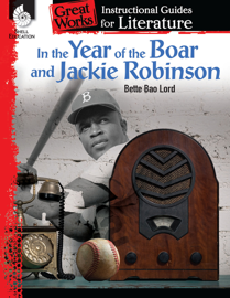 In the Year of the Boar and Jackie Robinson: Instructional Guides for Literature book