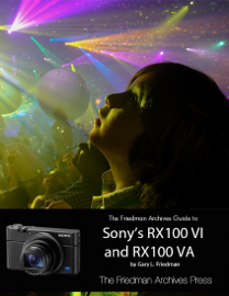 The Friedman Archives Guide to Sony's RX100 VI and RX100 VA book