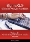 SigmaXL Statistical Analysis Handbook