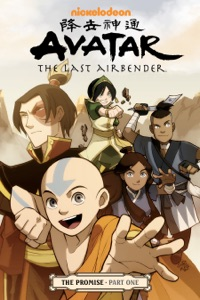 Avatar: The Last Airbender - The Promise Part 1 Book Cover