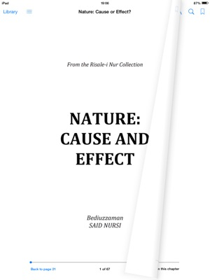 Nature: Cause and Effect? en Apple Books