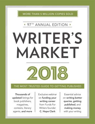 Writer's Market 2018 - Robert Lee Brewer book