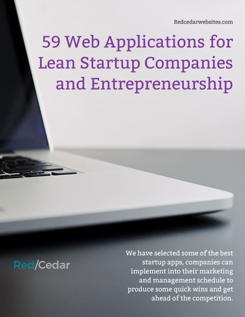 59 Web Applications For Lean Startup Companies And