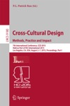 Cross-Cultural Design Methods Practice And Impact