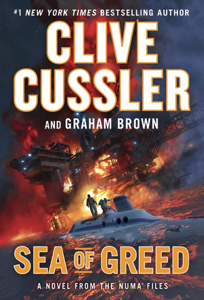 Sea of Greed - Clive Cussler & Graham Brown book cover
