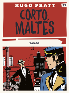 Corto Maltés - Tango Copertina del libro