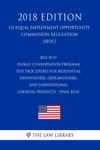 2012-10-31 Energy Conservation Program - Test Procedures For Residential Dishwashers Dehumidifiers And Conventional Cooking Products - Final Rule US Energy Efficiency And Renewable Energy Office Regulation EERE 2018 Edition