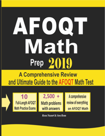 AFOQT Math Prep 2019: A Comprehensive Review and Ultimate Guide to the AFOQT Math Test book