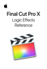 Apple Inc. - Final Cut Pro X Logic Effects Reference artwork