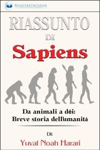 Riassunto di Sapiens: Da animali a dèi: Breve storia dell'umanità Book Cover
