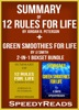 Summary of 12 Rules for Life: An Antidote to Chaos by Jordan B. Peterson + Summary of Green Smoothies for Life by JJ Smith