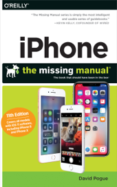 iPhone: The Missing Manual book
