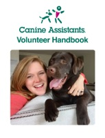 Canine Assistants Volunteer Handbook
