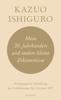 Kazuo Ishiguro - Mein 20. Jahrhundert und andere kleine Erkenntnisse Grafik