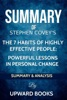 The 7 Habits of Highly Effective People:  Powerful Lessons in Personal Change - Summary & Analysis