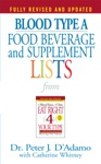 Blood Type A  Food Beverage And Supplement Lists