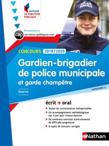 Concours Gardien-Brigadier de police municipale et Garde-champêtre - Catégorie C - Intégrer la fonction publique - 2019/2020 La couverture du livre martien