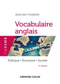 Vocabulaire anglais - 5e éd.