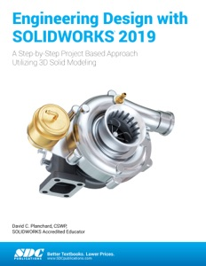 Engineering Design with SOLIDWORKS 2019 Book Cover