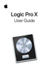 Apple Inc. - Logic Pro X User Guide artwork
