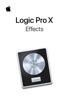 Apple Inc. - Logic Pro X Effects artwork
