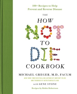 The How Not to Die Cookbook Book Cover