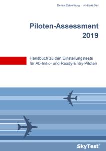 SkyTest® Piloten-Assessment 2019 La couverture du livre martien