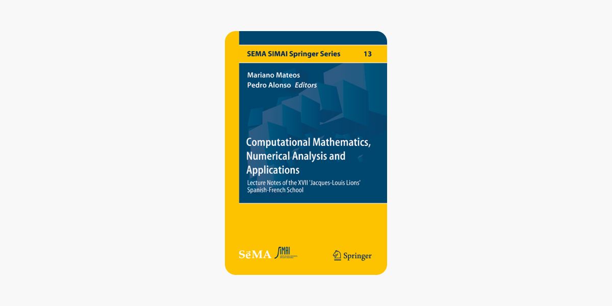 ‎Computational Mathematics, Numerical Analysis and Applications