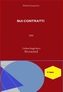 Sui Contratti Libro Cover