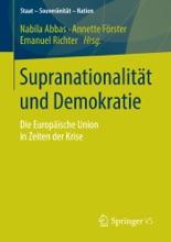 Supranationalität Und Demokratie