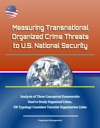 Measuring Transnational Organized Crime Threats To US National Security Analysis Of Three Conceptual Frameworks Used To Study Organized Crime UN Typology Considers Terrorist Organization Links