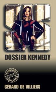SAS 6 Dossier Kennedy La couverture du livre martien