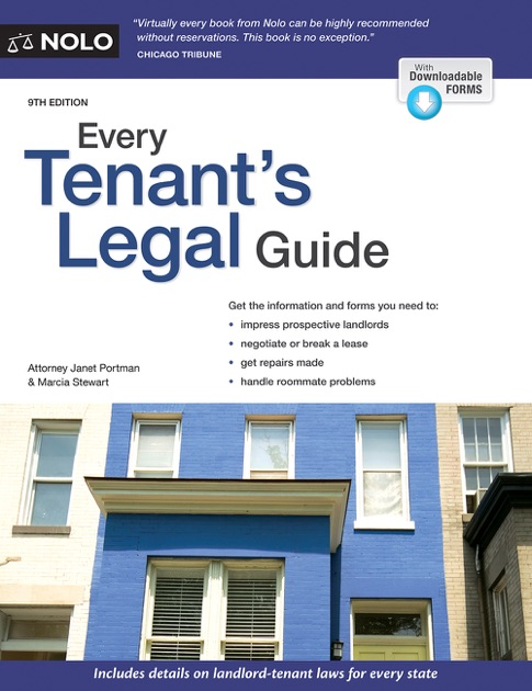 Every Tenant's Legal Guide by Janet Portman & Marcia Stewart on Apple Books