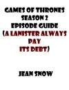Games Of Throne Season 2 Tv Guide A Lannister Always Pays His Debts
