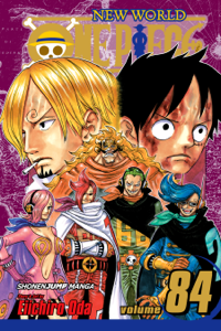 One Piece, Vol. 84 Book Cover