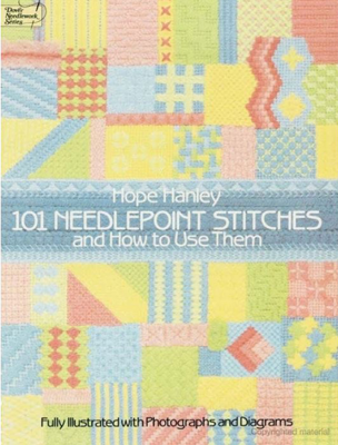 101 Needlepoint Stitches and How to Use Them - Hope Hanley book