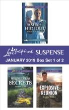 Harlequin Love Inspired Suspense January 2019 - Box Set 1 Of 2
