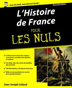 L'Histoire de France Pour les Nuls La couverture du livre martien
