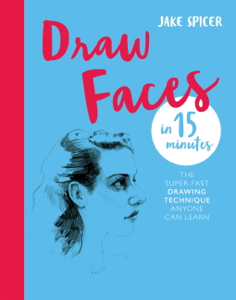 Draw Faces in 15 Minutes Libro Cover