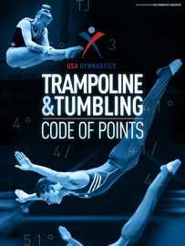 USA Gymnastics T&T Code of Points book