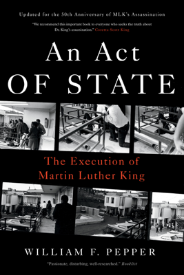 An Act of State - William F. Pepper book