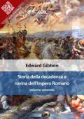 Storia della decadenza e rovina dell'Impero Romano, volume 2 Book Cover